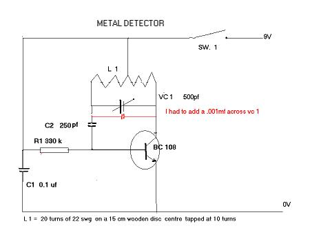 Incredible Gold Detector Schematic Wiring Digital Resources Remcakbiperorg